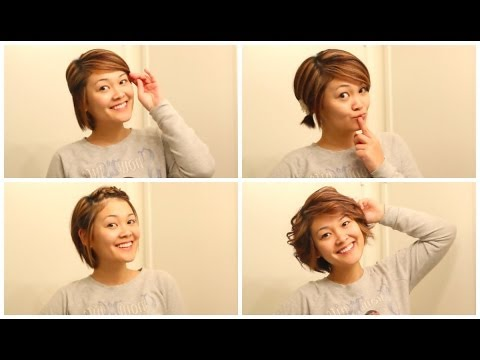 Easy Hairstyles When Growing Out Your Hair