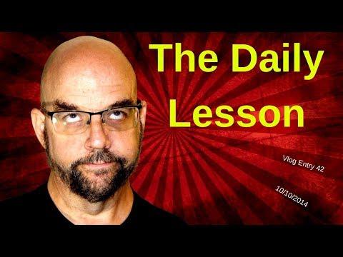 The Daily Lesson: Negativity (Teacher Vlog) 42
