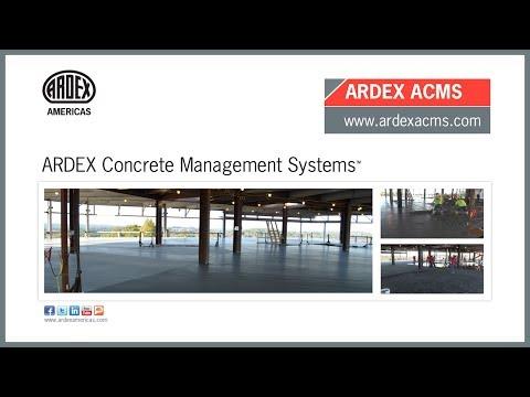 ARDEX Concrete Management Systems™ Overview