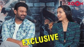 Shraddha Kapoor, Prabhas on their film Saaho, hysterical fan following, their first meet and more