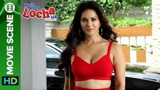 Sunny Leone kills it in red