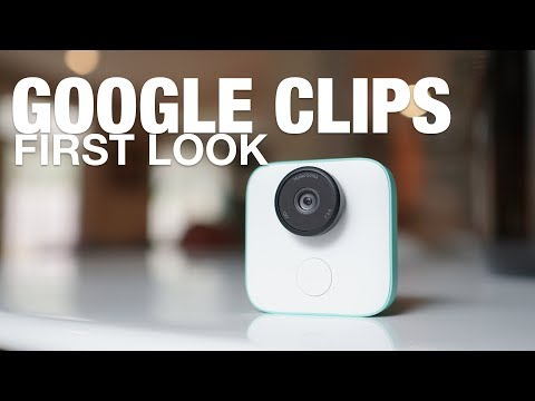 GOOGLE CLIPS First Look and Tour!