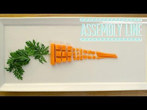 Knife Skills: Carrot Cuts  | Assembly Line