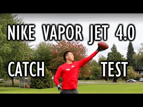 Nike Vapor Jet 4.0 Receiver Gloves Review and Testing
