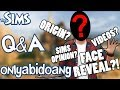 The Sims Styled QNA PART 1 + FACE REVEAL?! (50K SUBS SPECIAL)