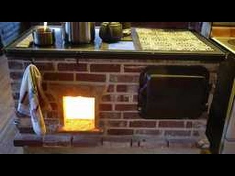 Walker Wood Fired Masonry Cook Stove Build Slideshow