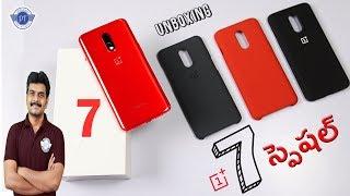 Oneplus 7 Unboxing & initial impressions ll in Telugu ll