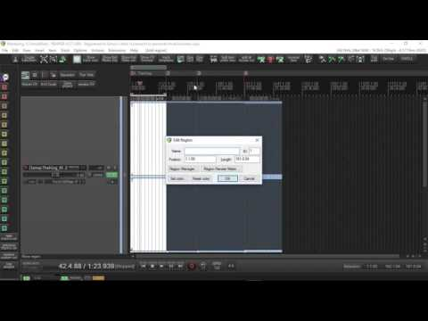 Reaper Tutorials  How to render an Ep or album for both hard drive and CD burn