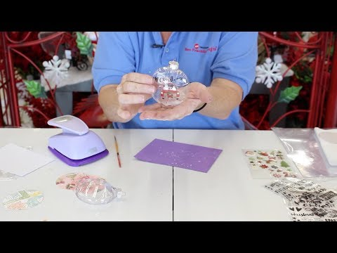Crankin' Out Crafts - ep541 Clear Ornament