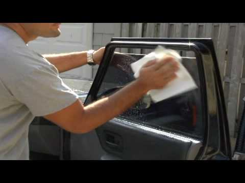 Car Maintenance : How to Clean Tinted Car Windows