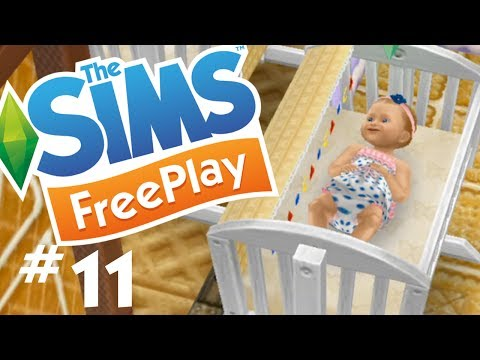 The Sims FreePlay - Adorable Babies and Toddlers - Let's Play Part 11