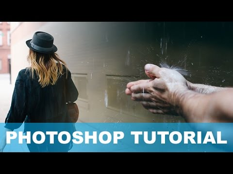 How to Gradually Fade two images together in Photoshop Tutorial