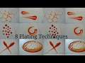 8 simple plating techniques for sauces | CHEF MRUGZIEE