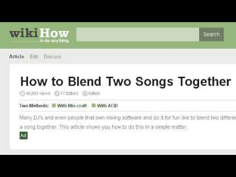 How-To Make A Blended Mix Of Songs On Itunes