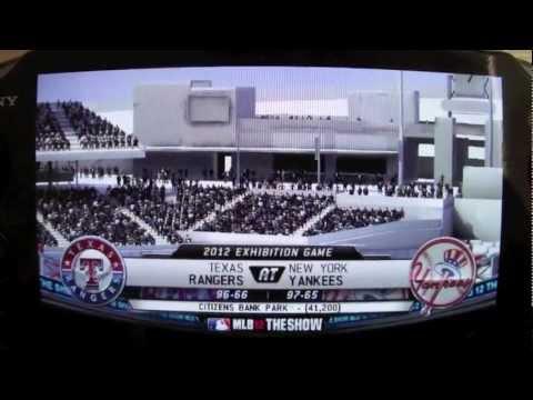PS Vita MLB 12 The Show Baseball Park Bug (update#2!)