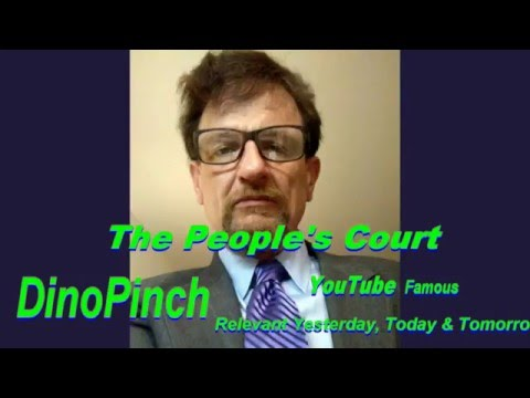 DinoPinch cameo on The People's Court