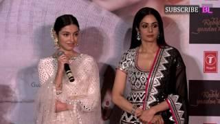 Sridevi and Divya Khosla Kumar at launch of video song Kabhi Yaadon Mein | Part 2