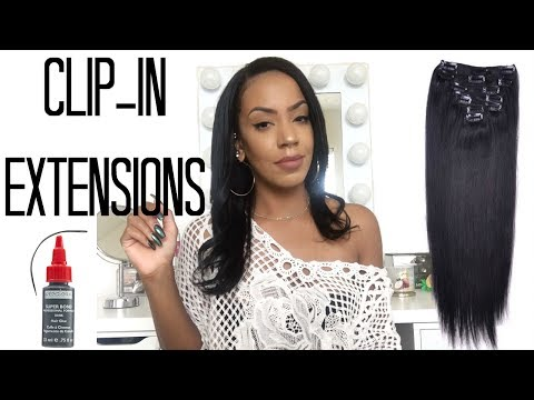 How To Make Clip-in Hair Extensions