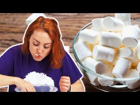 Irish People Try The Marshmallow Challenge