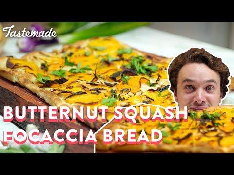 Butternut Squash Foccacia Bread | Frankie Celenza