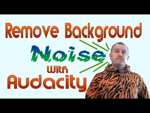 EASILY REMOVE BACKGROUND NOISE FROM YOUR VIDEO SOUNDTRACKWITH AUDACITY