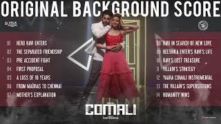 Comali Original Background Score | Jayam Ravi ,Kajal Aggarwal | Hiphop Tamizha | Pradeep| Vels Films
