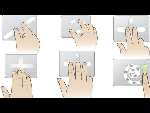 Snaptics Touch Pad Settings