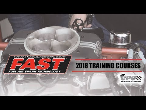 FAST Announces Training Courses for 2018