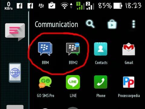 Cara Instal 2 BBM dalam 1 HP Android dengan Mudah