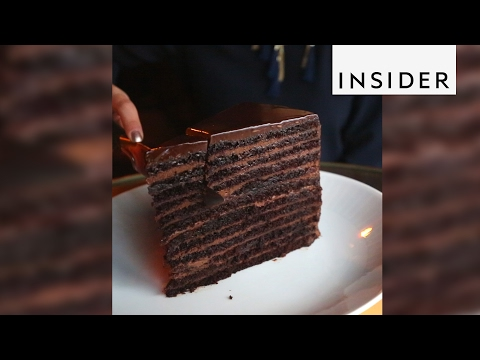 Chocolate Cake Has 24 Layers And Weighs 20 Pounds