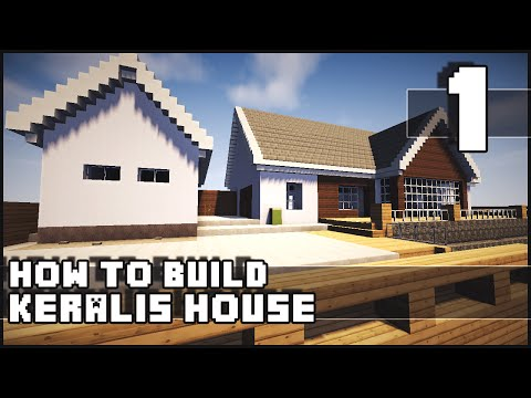 Minecraft House - How to Build : Keralis House - Part 1