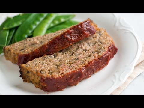 Unbelievably Moist Turkey Meatloaf Recipe -  How to Make Homemade Turkey Meatloaf