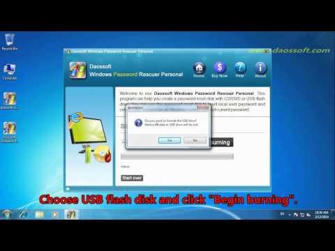 Acer Password Reset -- Remove Windows 7,8 Admin Password on Acer Aspire Laptop
