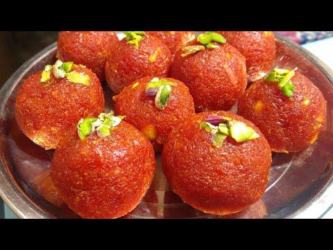 गाजर के लड्डू केवल 10 मिनट में बिना मावे के - Gajar ke Laddu - Gajar ka Halwa - Sangita Agarwal