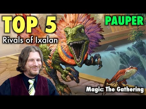 MTG - Top 5 Best Cards From Rivals of Ixalan for Pauper Magic: The Gathering