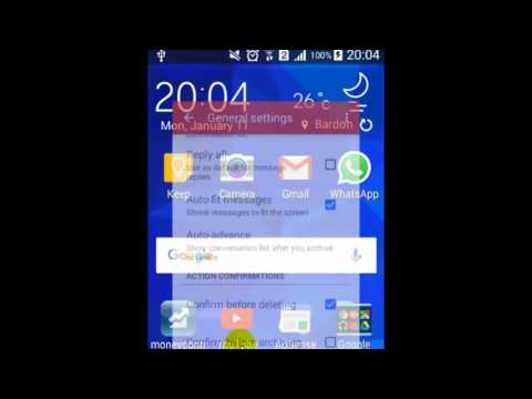 How to change password in Gmail android app