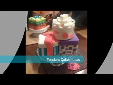 Decorating Fondant Cakes Ideas