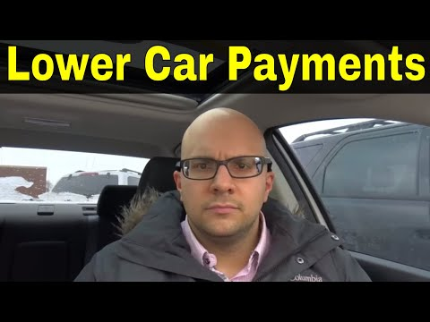 Why Lower Car Payments Could Be A Bad Thing