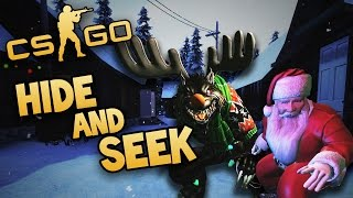Run & Hide Santa! Run & Hide! (CS:GO Hide & Seek #2)