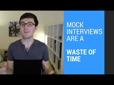 Mock Interviews are a Waste of Time ❌🕣