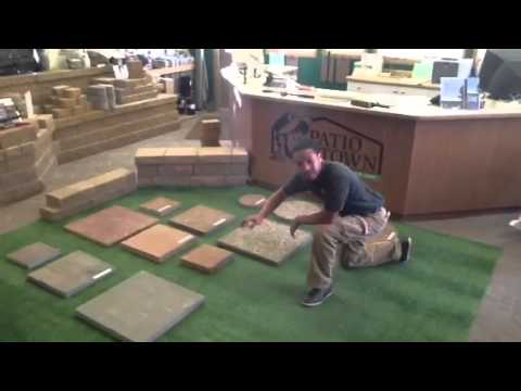 How to install stepping stones