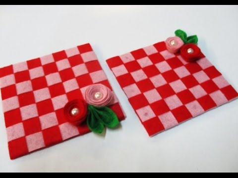 DIY : #80 Coasters WITH little flowers ♥