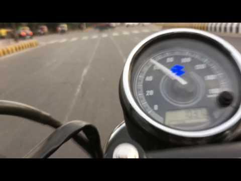 Bajaj Avenger 220 Street 0-100kmph acceleration.
