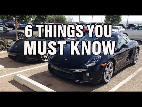 The 981 Porsche Cayman is an AMAZING Car...... BUT