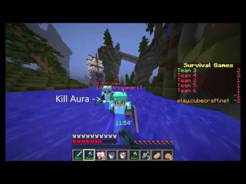 Minecraft 1 11 2 Survival Games Cubecraft Hacks Axtrogameryt