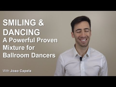 Smiling and Dancing - A Proven Mixture for Ballroom Dancers