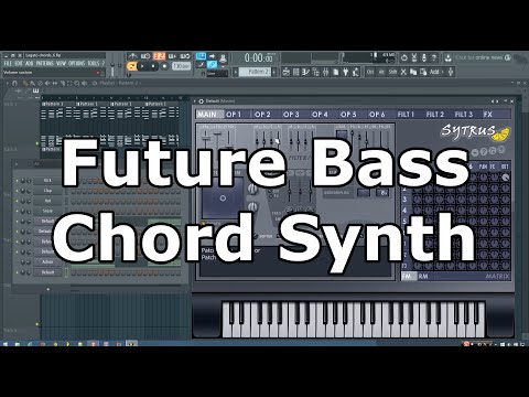 Future Bass Chord Pad Synth Tutorial in FL Studio