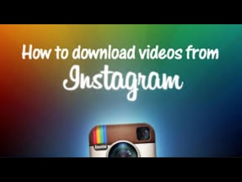 How To: Save INSTAGRAM Videos to Gallery (No Other Application Required)-2017 HD