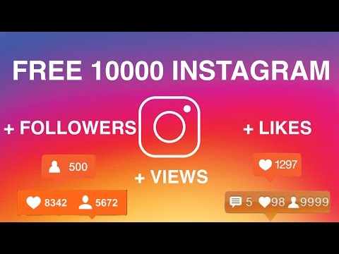 How to get 10,000+ FOLLOWERS on INSTAGRAM for FREE