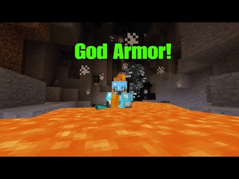 Minecraft Ps4/Xbox One-God tools and Armor Tutorial!